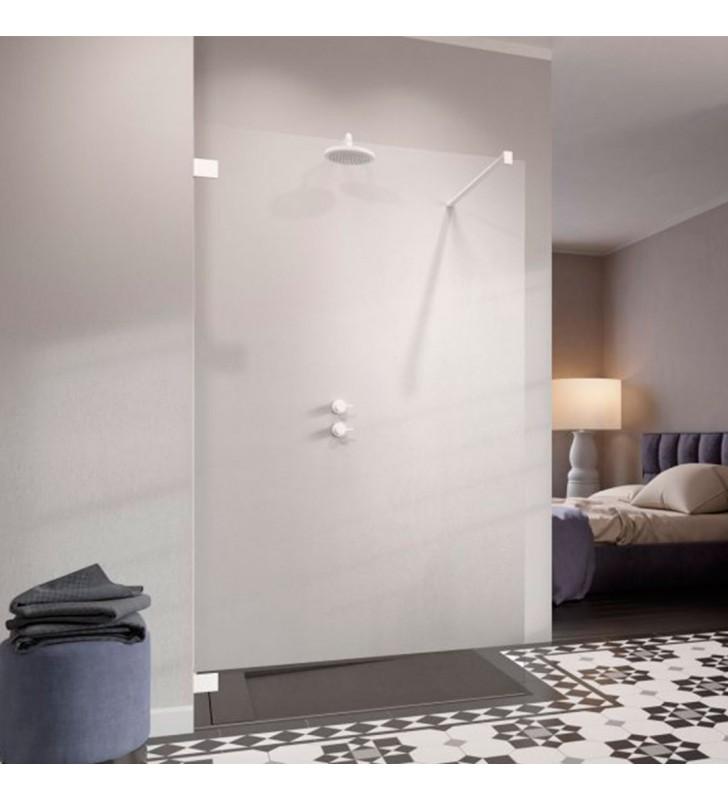 Душевая кабина Radaway Essenza Pro White Walk-in 100x100x200