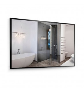 Зеркало Liberta Nero 120x80