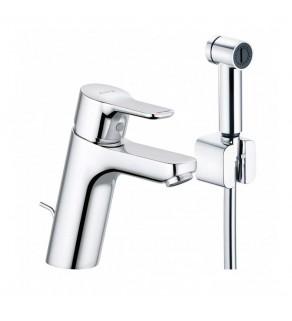 Смеситель для умывальника с гигиеническим душем Kludi Pure&Easy 372590565
